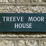 Treeve Moor House sign
